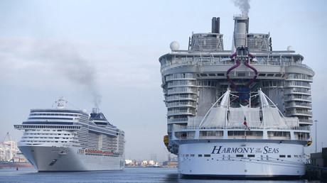 Le Harmony of the Seas est le plus gros paquebot du monde
