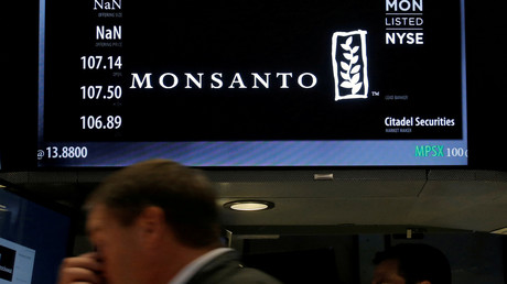 Le cours de l'action Monsanto à Wall Street