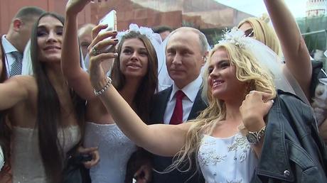 Une matinée comme les autres dans la vie du président russe