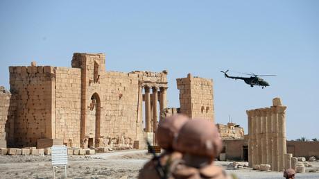 Syrie : la Russie affirme avoir empêché une attaque de l'Etat islamique sur Palmyre