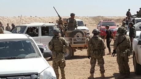 Des soldats américains en Syrie
