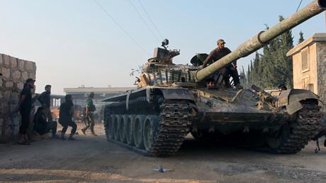 Des rebelles syriens à Alep