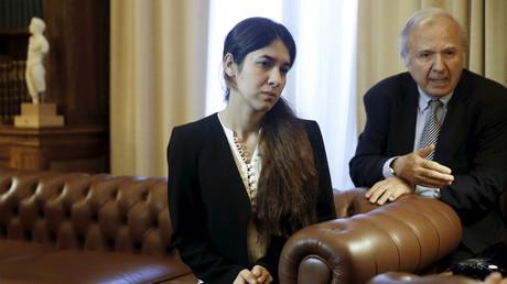 L'ancienne esclave de Daesh, une jeune yézidie, nommée ambassadrice de bonne volonté de l'ONU