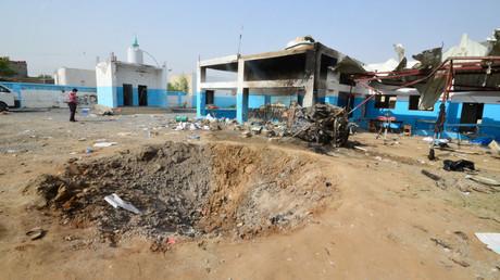 L'hôpital soutenu par MSF après la frappe saoudienne au Yémen