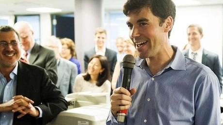Des journalistes du Washington Post lors de la remise du Prix Pulitzer