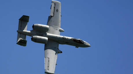 Le bombardier américain A-10