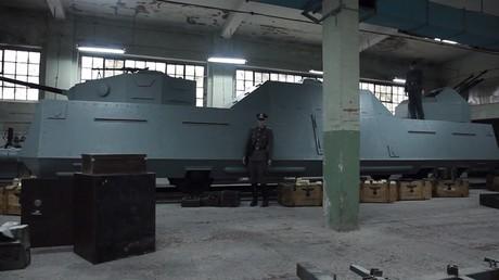 Le légendaire train d'or nazi introuvable, un Polonais en fabrique la réplique