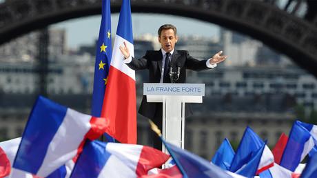 Nicolas Sarkozy en campagne en 2012. ©Martine Bureau/AFP