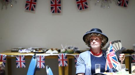 Une femme au comité de UKIP à Clacton-on-Sea, ville où 70 % des électeurs ont voté pour sortir de l'UE.
