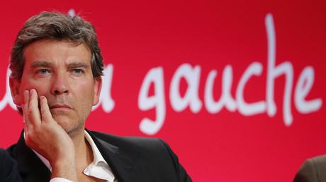 Le candidat à la primaire socialiste et ancien ministre Arnaud Montebourg