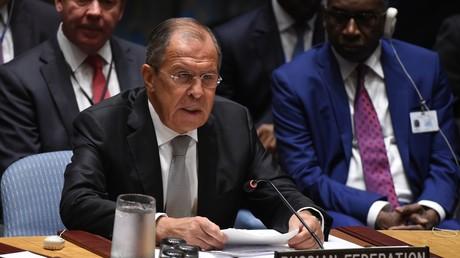Le chef de la diplomatie russe, Sergueï Lavrov.