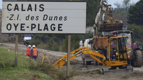 Le maire de Calais veut s'opposer à la construction du mur anti-migrants