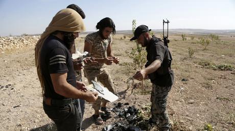 Des combattants d'Ahrar Al-Sham