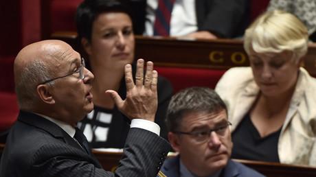 Le ministre des Finances et des Comptes publics Michel Sapin