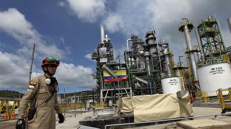 Raffinerie de pétrole en Equateur, membre de l'OPEP. Photo ©Guillermo Granja/Reuters
