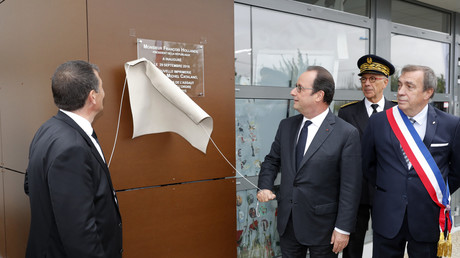 François Hollande à Dammartin