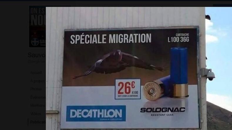 6e0c92506 Décathlon retire en catastrophe sa publicité «spéciale migration ...