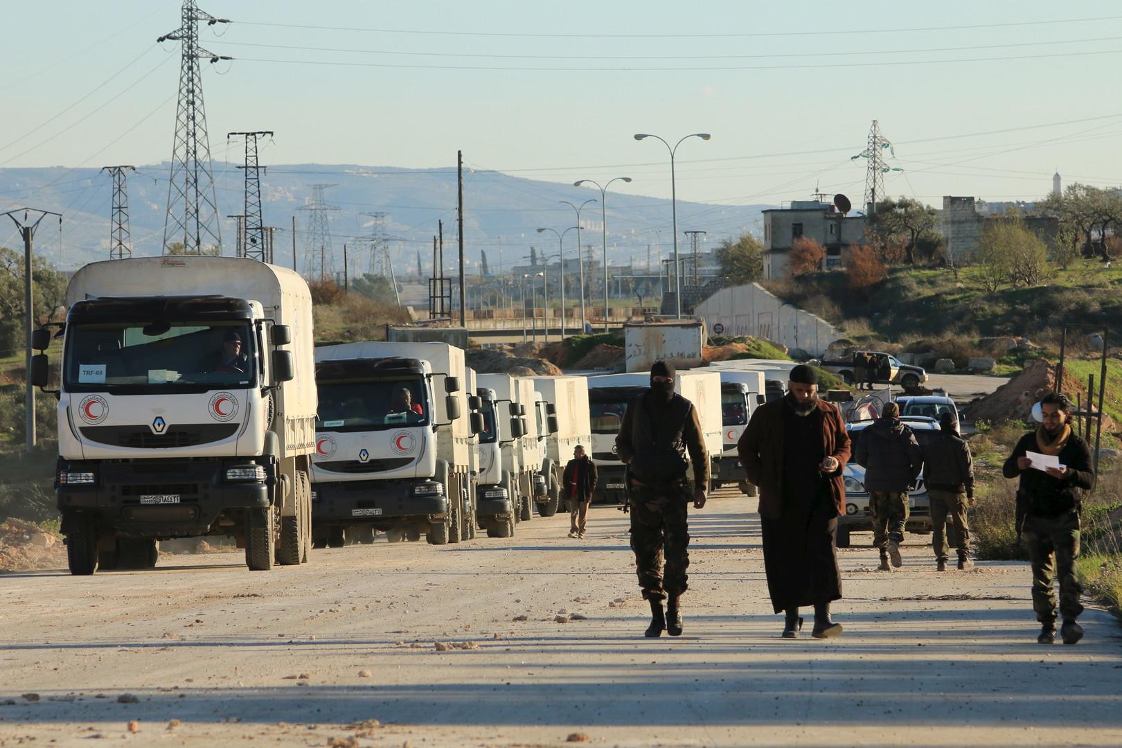 Convoi humanitaire à Alep