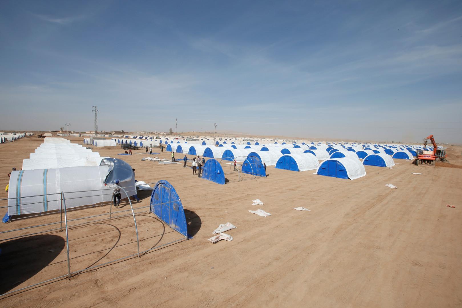 Le Croissant-Rouge s'attend à un million de nouveaux réfugiés après l'opération à Mossoul