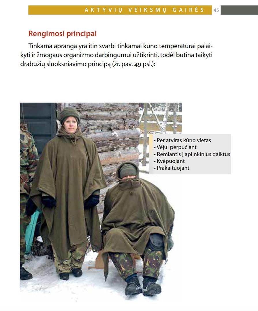 La Lituanie distribue des manuels pour former ses habitants à la guerilla... en cas d'invasion russe
