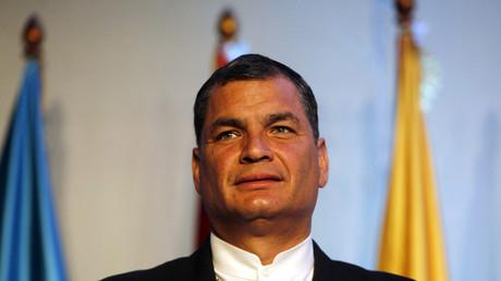 Président de l'Equateur Rafael Correa