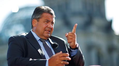 Sigmar Gabriel, ministre de l'Economie allemand. Photo ©Hannibal Hanschke/Reuters