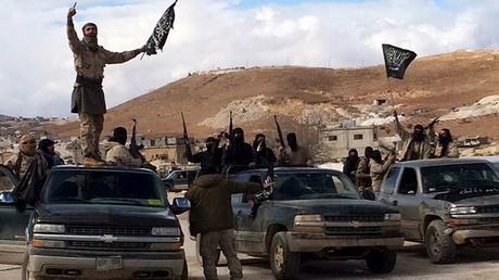 Des combattants du Front Al-Nosra
