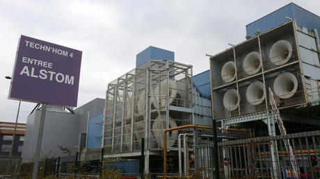 L'usine Alstom de Belfort