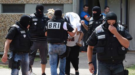 Opération de la BRI (Brigade de Recherche et d'Intervention) menée en juin 2015 au domicile d'un djihadiste présumé. (Photographie d'illustration).
