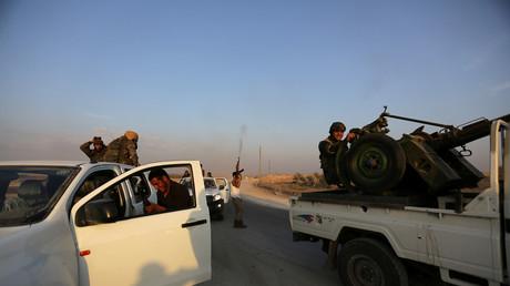 Des rebelles opposés au président syrien Bachar el-Assad