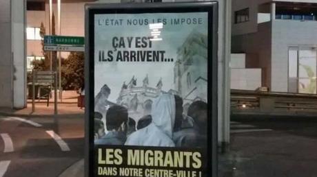 «Ça y est ils arrivent» : la nouvelle campagne anti-migrants de la mairie de Béziers fait scandale