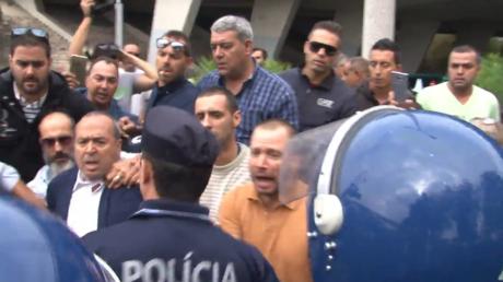 Une manifestation anti-Uber dégénère à Lisbonne (VIDEO)