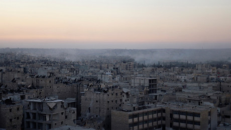 Alep, Syrie, le 5 octobre 2016 ©Abdalrhman Ismail/Reuters