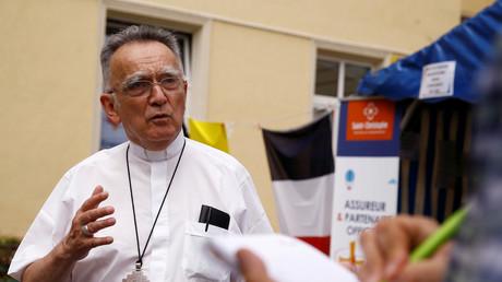 Le président de la Conférence des évêques et archevêque de Marseille, Georges Pontier
