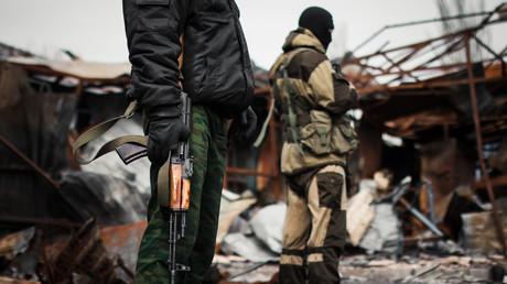 Des rebelles ukrainiens