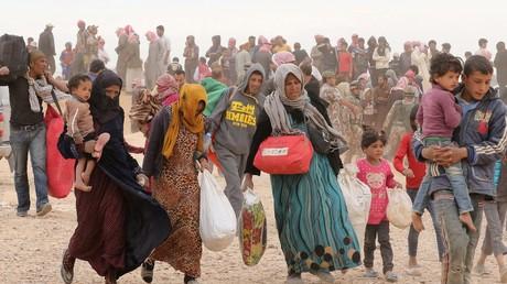 La Jordanie livrera de l'aide humanitaire aux réfugiés de l'autre côté de la frontière par grue