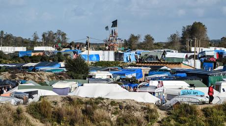 La «Jungle» de Calais.