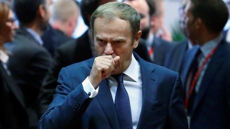 Donald Tusk lors du sommet européen