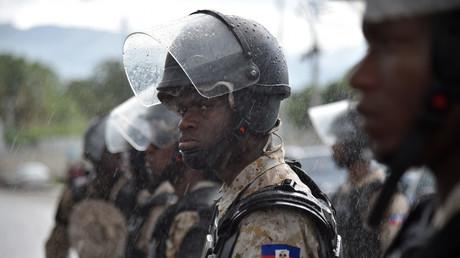 Un policier haïtien (photographie d'illustration).