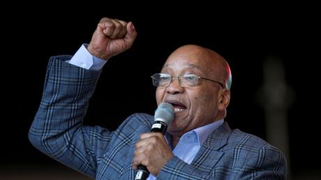 Le président de l'Afrique du Sud Jacob Zuma