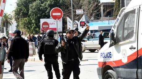 Les forces de sécurité tunisienne