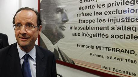 François Hollande, candidat à la primaire du PS en 2011 ©Stéphane Mahé/Reuters