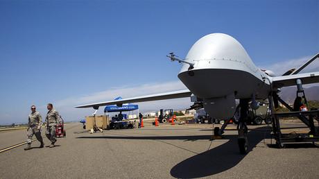 Drone américain de type MQ-9 Reaper ©Patrick Fallon/Reuters