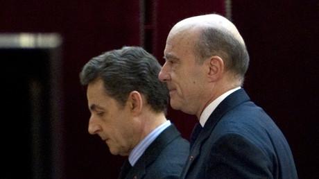 Nicolas Sarkozy et Alain Juppé en 2012