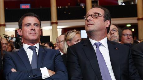 Manuel Valls et François Hollande le 8 septembre 2016 ©REUTERS/Christophe Ena/Pool