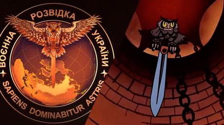 Le renseignement ukrainien se dote d'un nouveau blason, la Russie dans le viseur