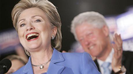 Hillary Clinton en campagne en 2008 pour l'investiture démocrate ©Reuters/John Gress