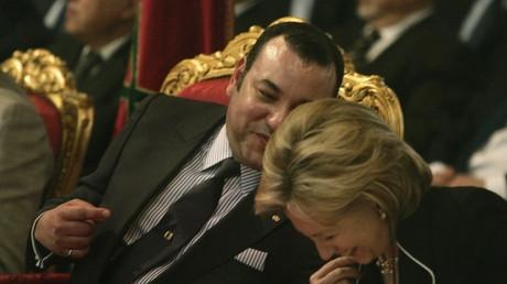 Hillary Clinton et Mohammed VI en 2009