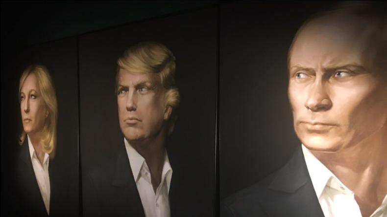 Un trio Trump-Poutine-Le Pen serait «bon pour la paix dans ...