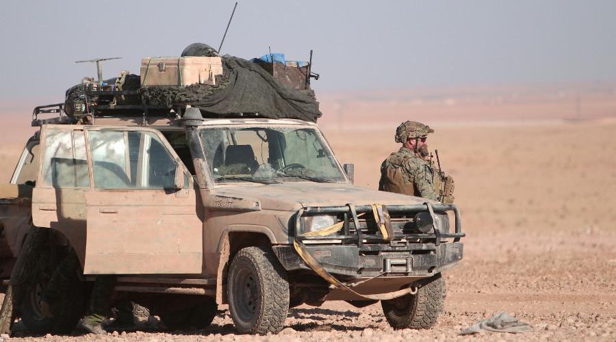 Des soldats américains repérés par RT à proximité de Racca (PHOTOS)